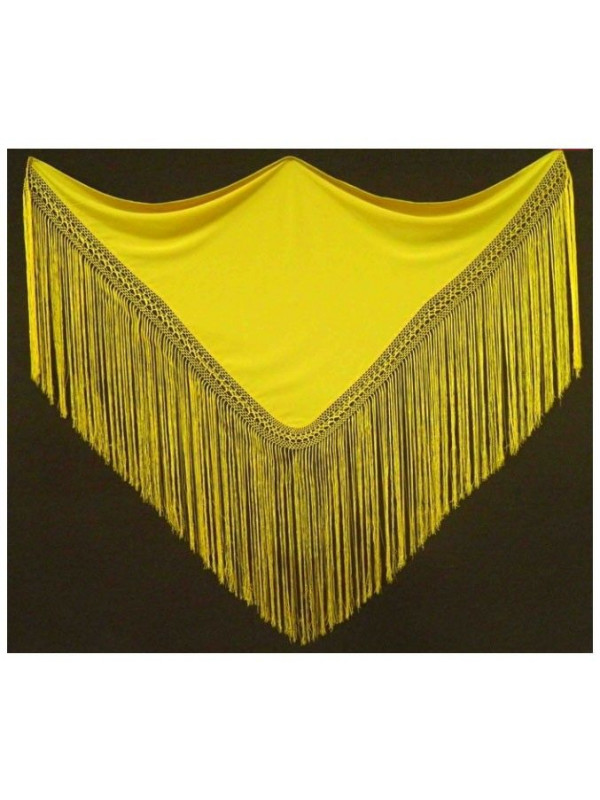 Pico liso de seda  para traje andaluza