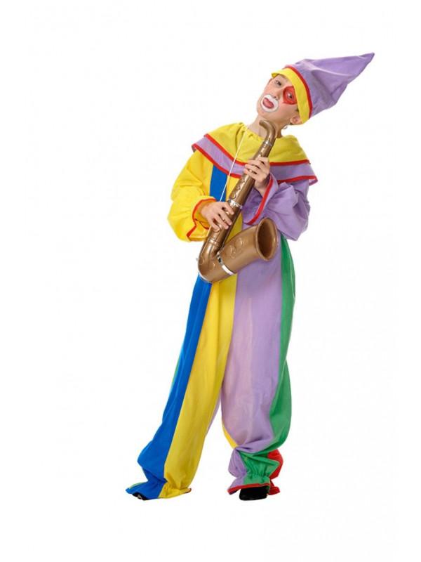 Disfraz payaso arlequin infantil
