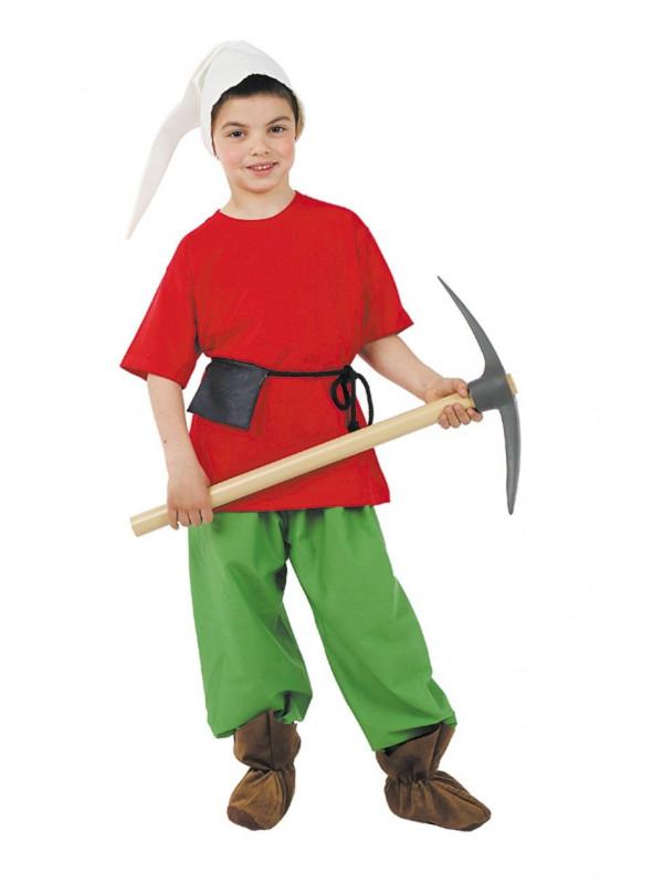 Disfraz enanito niño