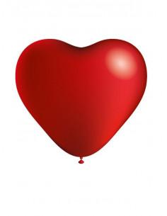 Globos con forma de corazon