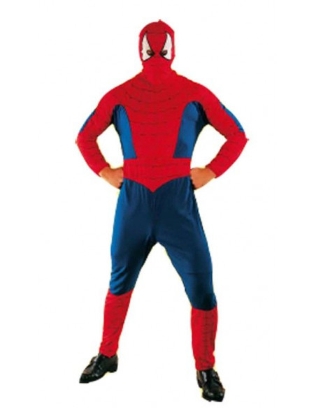 Disfraz Spiderman rojo adulto