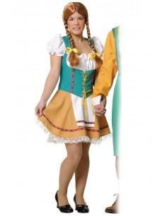 Disfraz de tirolesa mujer