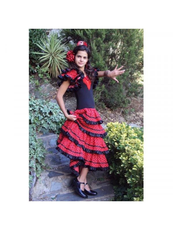 Vestido andaluza niña