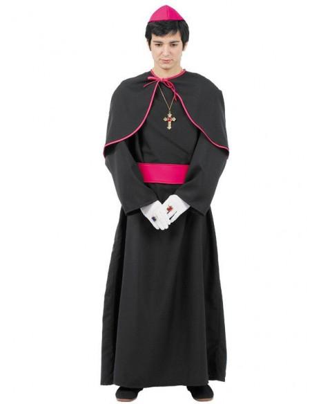 Disfraces de cura monseñor adulto