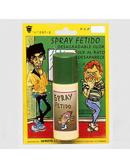 Broma Spray con olor a bombas fetidas