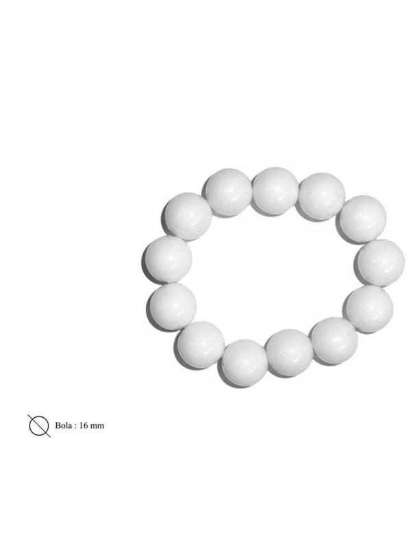 Pulsera de bolas con goma adulto