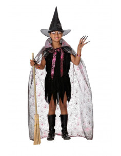 Disfraz bruja barato niña