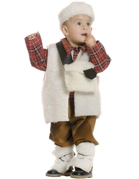 Disfraz pastor bebé