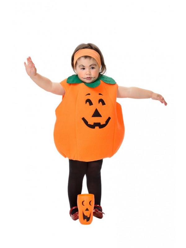 Disfraz calabaza bebe