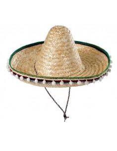 Sombrero mejicano adulto 55cm