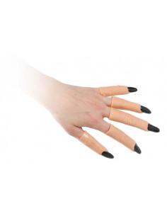 Uñas con dedo de latex