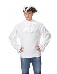 Camisas de epoca con chorreras