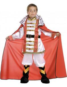 Disfraz rey mariscal niño