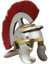 Gorro romano de hierro con pelo