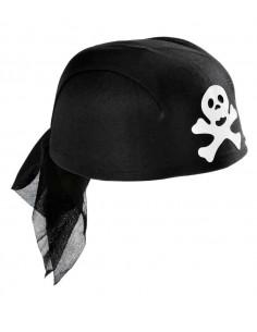 Casquete pirata con pañuelo