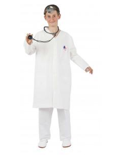 Bata blanca infantil médico doctor