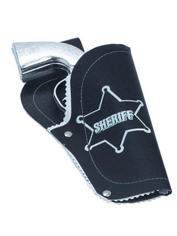 Cartuchera Sheriff con pistola