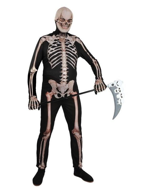 Disfraces de esqueleto licra