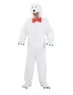 Disfraces de oso polar adulto