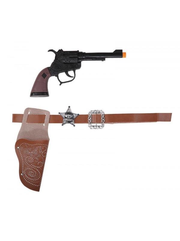 Pistola cartuchera