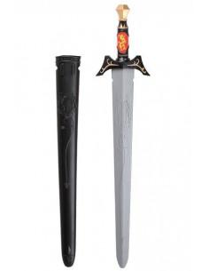 Espada guerrero medieval