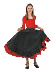 Falda andaluza niña