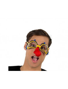 Gafas broma con nariz de goma