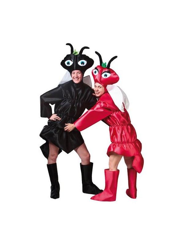 Disfraz de hormiga granate