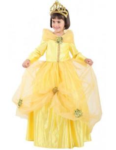 Disfraz de princesa Bella niña