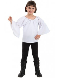 Blusa medieval para niña
