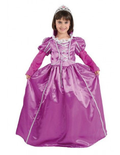 Disfraz princesa morada