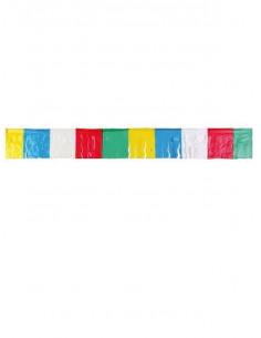 Fleco plástico multicolor para decoración fiestas