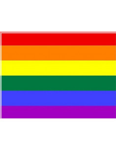 Tejido bandera gay popelín