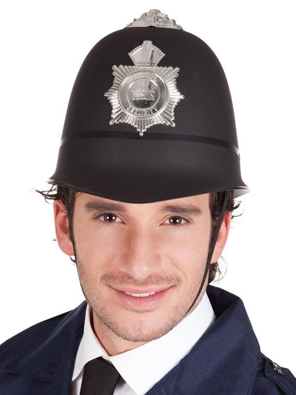 Casco policia bobby