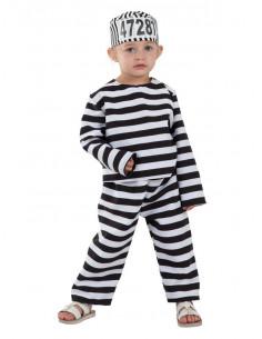Disfraz de preso bebé