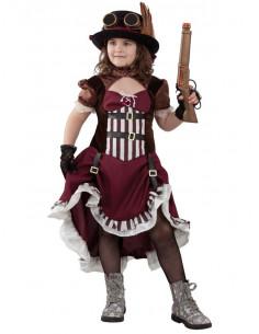 Disfraz steampunk niña