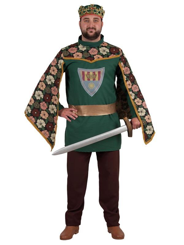 Disfraz de principe medieval para hombre