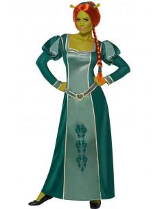 Disfraz Fiona de Shrek para mujer