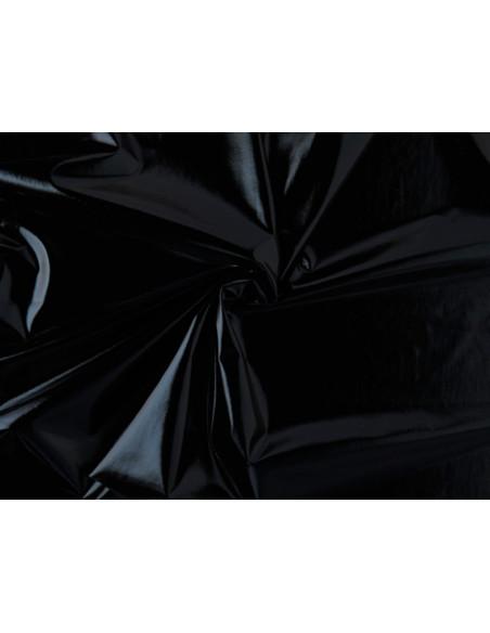 Tejido licra laminado negro