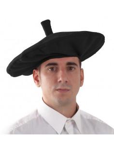 Txapela vasca negra