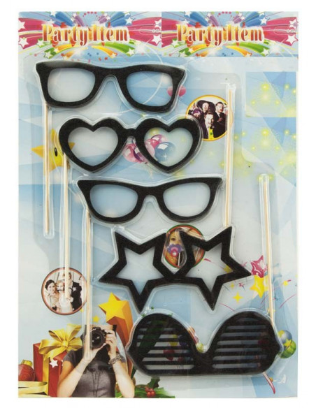 Set photocall gafas envase
