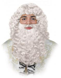 Peluca de Rey Mago blanca