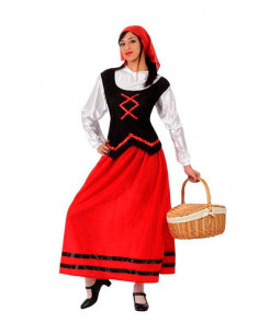 Disfraz pastora para mujer