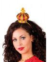 Serre-tête couronne reine de coeur