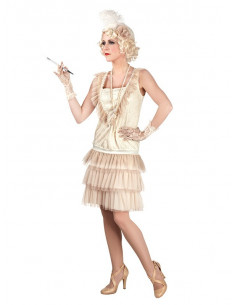 Disfraz Charleston deluxe para mujer