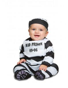 Disfraz de preso Mad para bebé