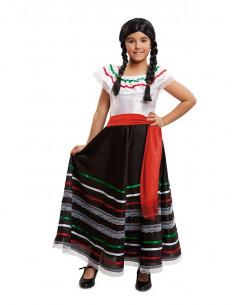 Disfraz de mexicana para niña