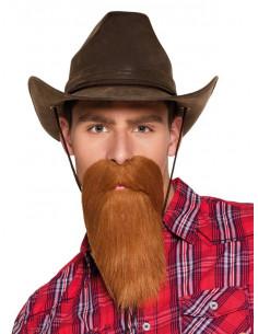 Barba de vaquero larga