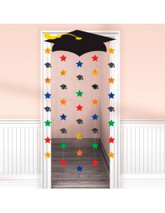Decoración de graduación para puertas