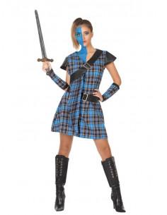 Disfraz escocesa para mujer
